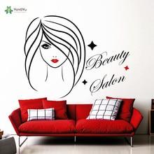 YOYOYU Wall Decal Vinyl Sticker Beauty Salon Room Decoration Fashion Girl Interior Design Art Removeable YO278