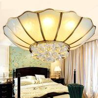 Modern hanging Crystal lighting led Ceiling Lamp sconce Round Ceiling Lights E27 Led Lustres De Sala dining room bedroom lamps