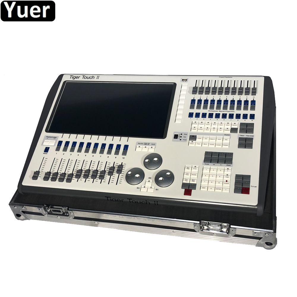 Profissional estágio de Música Toque Tigre II Controlador DMX Controller Mais Novo 11.10 istema Core i5 processador Para Disco DJ Equipmen