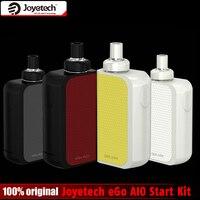 Originele Joyetech EGO AIO Doos Start Kit 2 ml Verstuiver Capaciteit BF SS316 Coil en 2100 mAh Ingebouwde batterij joyetech AIO Kit