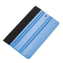 Vehicle Wraps Tool Car Vinyl Safety Cutter & Soft Felt Edge Squeegee Plastic Scraper Kit Window Glass Decal Applicator