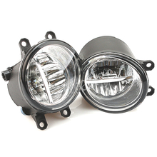 цена на Fog Lights 2pcs led For Toyota Corolla Avensis Camry Ractis Verso RAV 4 2003-2014 car lights fog lamps super bright
