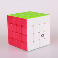 4x4x4 QIYI Puzzle Magic Cube 62 Mm Speed Sticker Less Educational Anti Stress Reliever Cubes Toys
