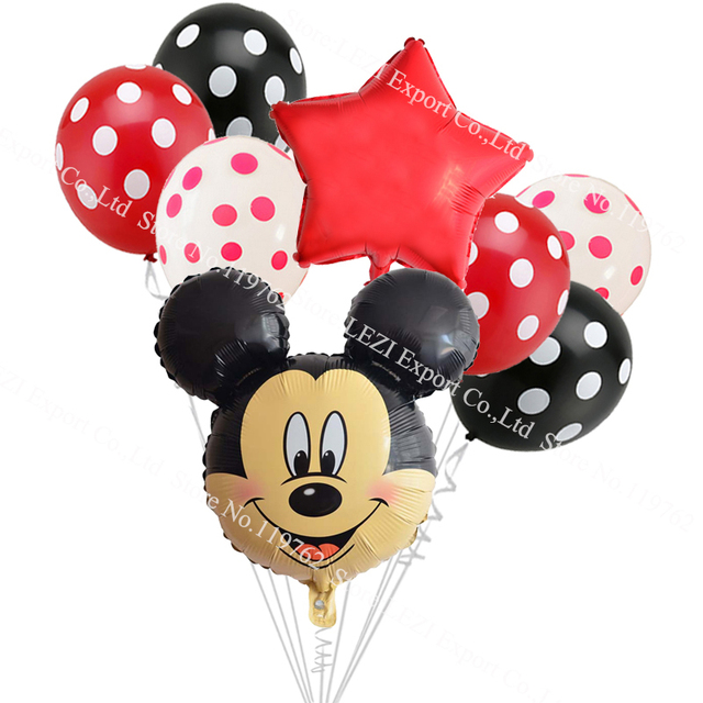8 ct Mickey Mouse Balloon Decorations