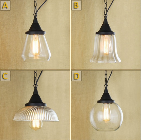 Loft Style In Painting Edison Vintage Industrial Pendant Lights Lamp For Dinning Room,Glass Lampshade,E27*1 Blub Included AC retro loft style industrial vintage pendant lights hanging lamps edison pendant lamp for dinning room bar cafe