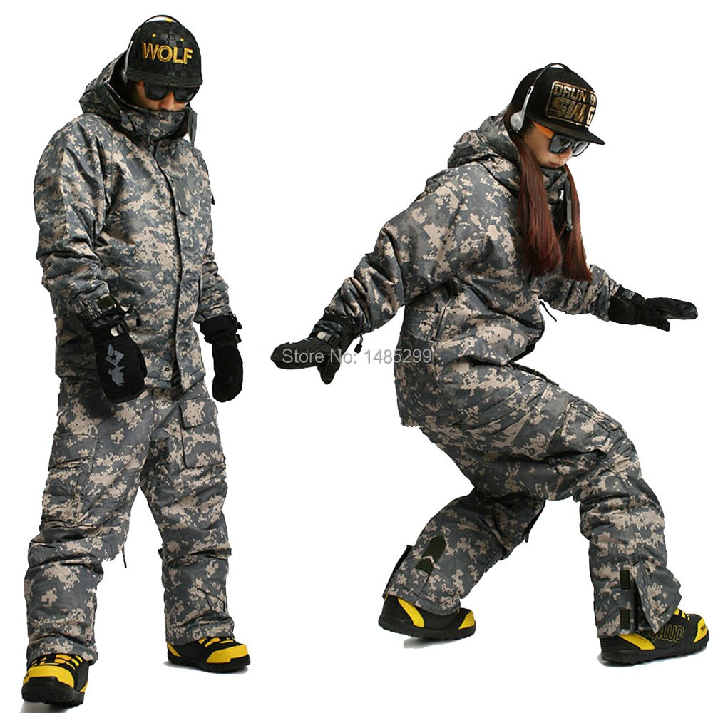 New Edition ''Southplay'' Winter Waterproof 10,000mm Warming (Jacket + Pants)Sets - Mikan Military