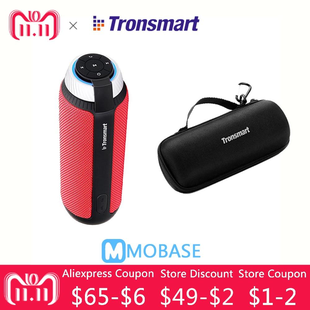 Tronsmart T6 Динамик VS JBLCHARGE 3 Портативный беспроводной Bluetooth Динамик мини Колонка Саундбар приемник аудио AUX большой мощности