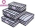 LOAAO Moda caixa organizador dobrável saco de armazenamento em casa quente meias cuecas calcinhas caixa de armazenamento sutiã organizador