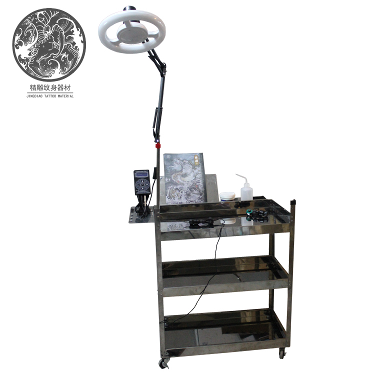 Top Grade Electric Tattoo Bed Electric Tattoo Tattoo Bed Electric Lift Bed Jiaxing Fine Carving Tattoo Equipment0