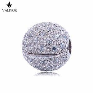 Image 1 - ¡Vídeo! Abalorios de estrellas fijas para cuentas de plata esterlina 925, compatibles con pulseras y brazaletes, color que nunca cambia, DDBJ071