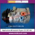 10S17C AUTO AC compressor for Mitsubishi Pajero 3.2 00'>06'