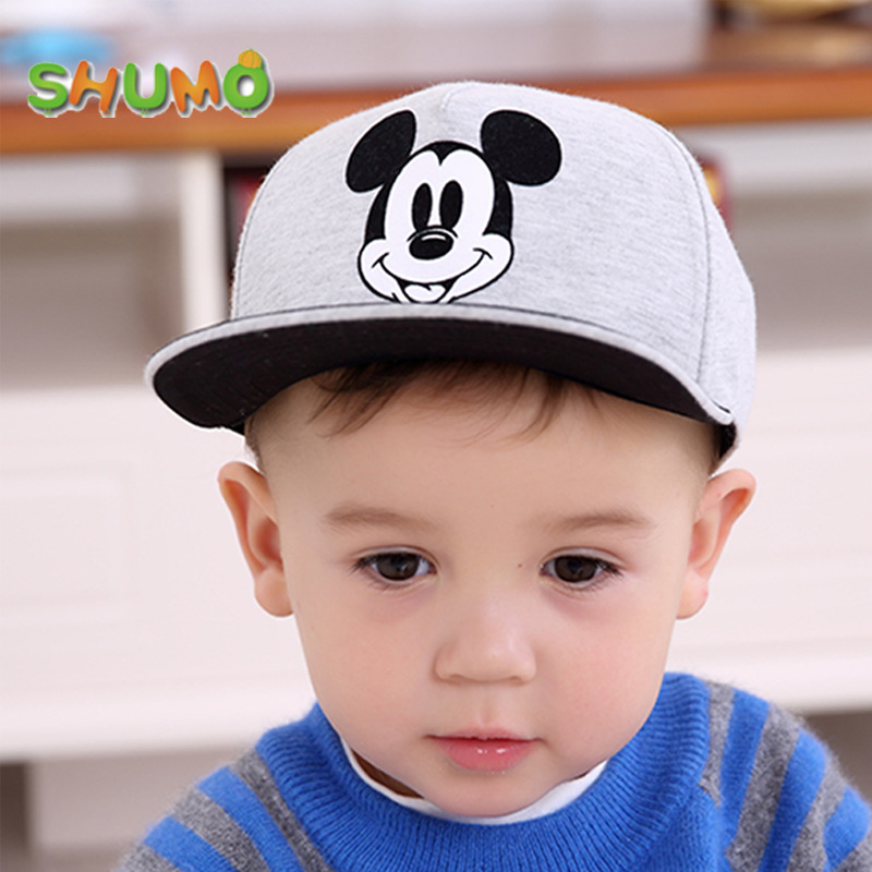 2018 New Spring Summer Cartoon Children Baseball Cap Boys Sun Hat Hiphop Cap Toddler Kids Hat Caps pokemon 0-6Y spaceman trucker cap men dad hat snapback baseball caps summer hip hop black embroidery cotton sun hats for women casual visor