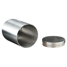 1PC Cigarette Metal Box Waterproof Male And Female Portable Cylindrical Case For Moisture-proof