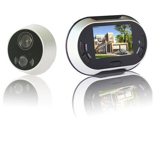 3.5 polegada LCD porte numérique Viewer Peephole sonnette 170 degrés Home Security sonnette caméra Photo tir 3.5