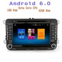 Android 6 0 Octa Core Car Radio Dvd For VW Golf Polo Passat Tiguan TOURAN SHARAN
