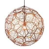 GZWJ Vintage Led Pendant Light Hanging Lamps LED Amber Globe Pendant Light Suspension Luminaire Decoration Mariage