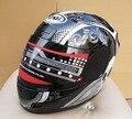 Free shipping Arai helmet motorcycle human skeleton helmet visor Casco Casque