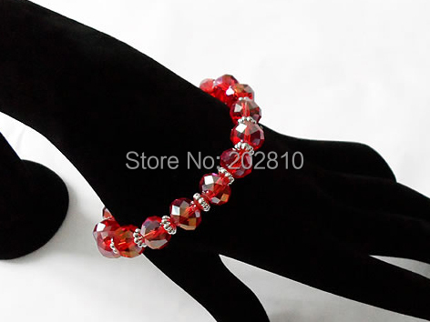 factory sales Fashionable sexy handmade woven crystal trendy strand bracelets for woman