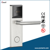 RF Card Hotel Door Lock Hotel Key Card Lock System Electric Lock With Card Reader