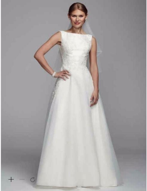 Custom Made 2016 New Free Shipping Mikado Tank Wedding Dress with ...
