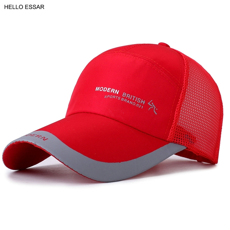 NEW Rapid Drying Men Baseball Cap Women Golf Sports Outdoor fishing Snapback hat cap sunscreen hats C1112