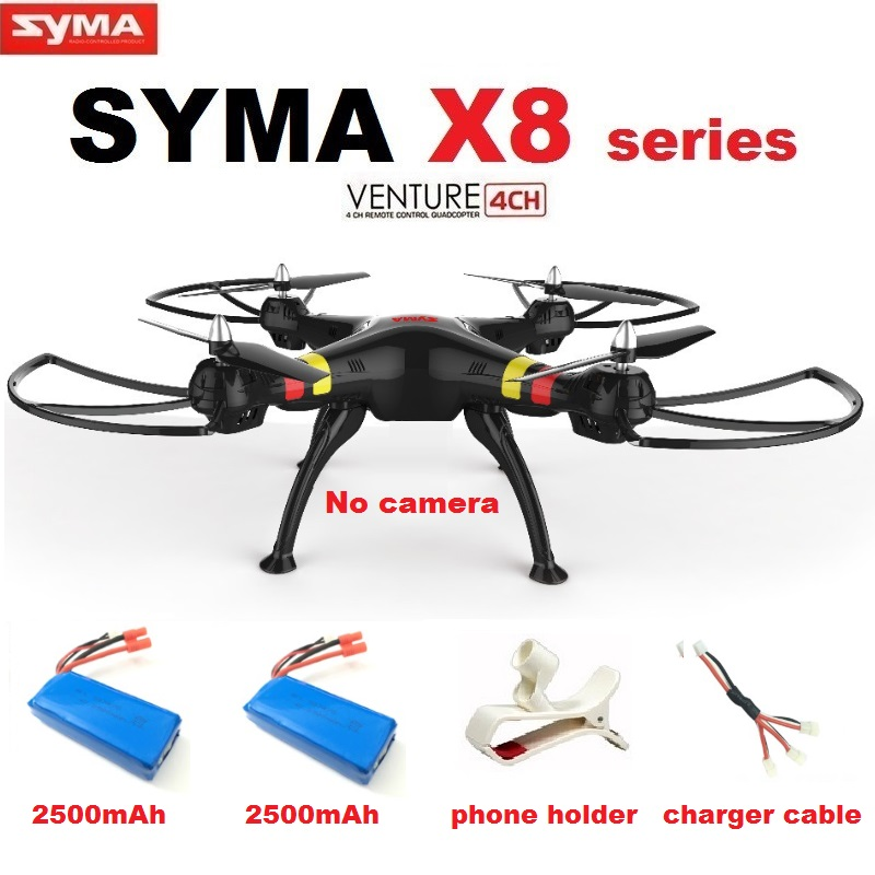 Syma X8C X8W X8 6-Axis RC Quadcopter Without camera Professional Drone Compatible With Gopro/SJCAM/Xiaoyi/EKEN Action Camera