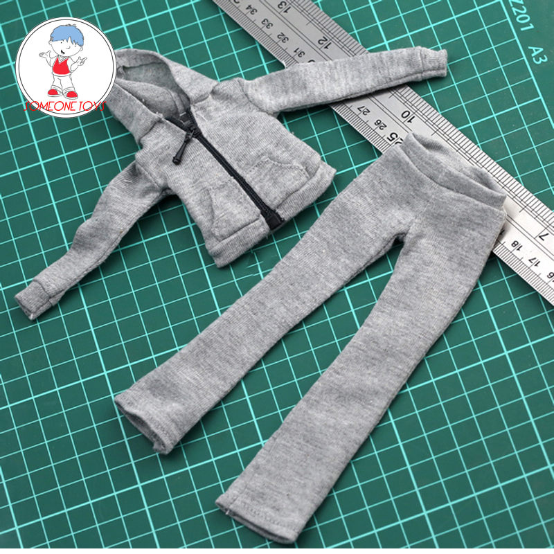 1//6 Scale Doll Pants Sweatpants for 12/'/' Female Action Figure Accessories