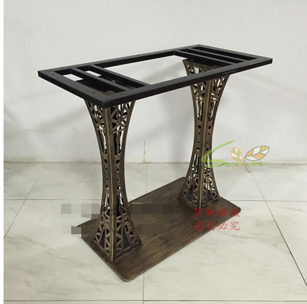 Retro dining tables. Table leg frame.. Marble table leg ...