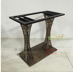 Retro dining tables. Table leg frame.. Marble table leg. Test bench