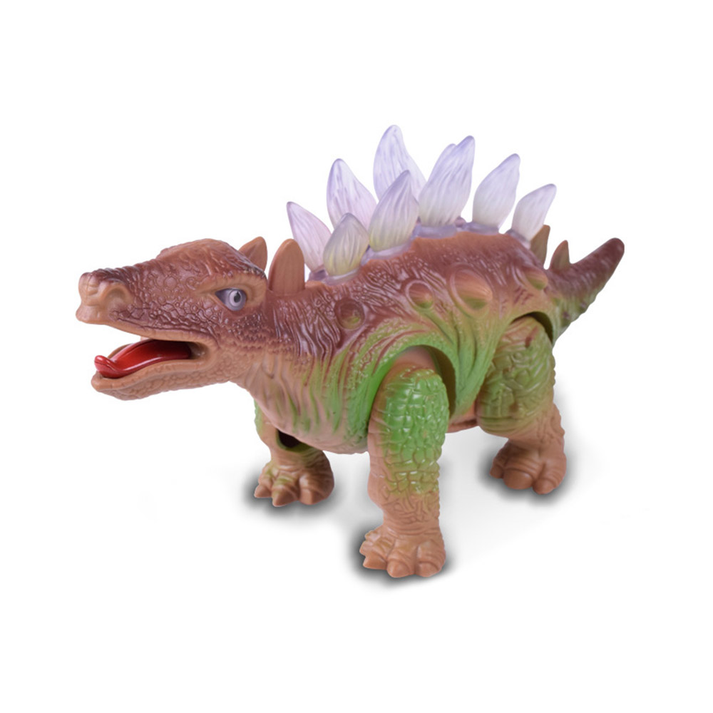 Walking Roaring Light Dinosaur Toy For Children With Light Collectible Model Electric Toy For Children Boy Girls