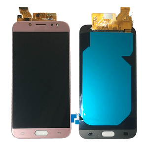 Image 5 - 5.5 AMOLED Samsung Galaxy J7 2017 ekran J730 J730F J730M J730Y LCD ekran + dokunmatik ekran digitizer cam Panel J730 LCD