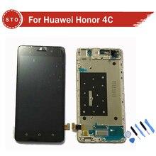 Para huawei honor 4c pantalla lcd de pantalla táctil con la asamblea del digitizador con frame + herramientas de envío gratis