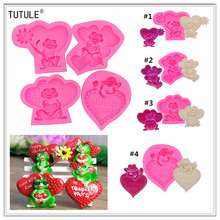Gadgets - Frog with Bouquet Silicone Rubber Flexible Food Safe Mold-fondant, candy Mold-Frog dessert flexible silicone mold цена