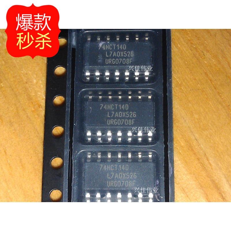 10pcs/lot 74HCT14 74HCT14D SN74HCT14D SOP14-3.9MM New Original