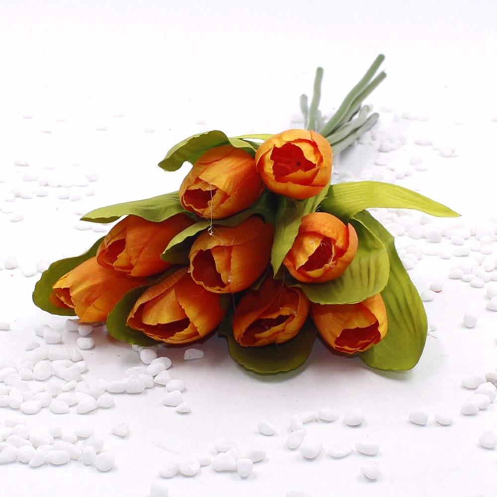 Mẫu hoa Tulip giả M-172 màu cam