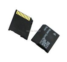 마이크로 sd 메모리 스틱 프로 듀오 카드 리더 MS 프로 듀오 카드 어댑터 psp 용 단일 슬롯 tf 메모리 sd 카드 변환기
