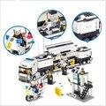 Comisaría 511 unids Modelo Kits de Construcción de Juguetes Educativos Bloques de Construcción de Ladrillos Compatible con legoe Ciudad Camión Juguetes Para Niños de Coches