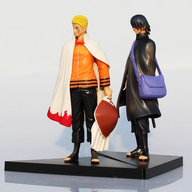 Naruto Action Figure 2pcs/set Japan Uzumaki PVC Action Figure Children Toys