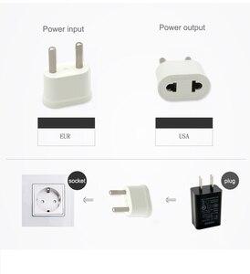 Image 5 - Штепсельная Вилка Schuko, переходник для США, США, ЕС, евро, Европы, для путешествий, электрическая розетка переменного тока