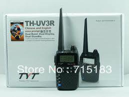 Portable radio set TYT TH UV3R Dual Band 2 way radio