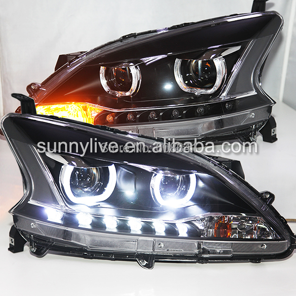 2012-2014 LED luce Frontale Per NISSAN Sentra Sylphy