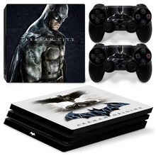 Batman PS4 Pro Skin Sticker Decal Vinyl