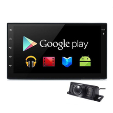 Quad-core 2 din Android 4.4 Universal Car Radio Double Car DVD Player GPS Navigation 2din In dash Car PC Stereo video Free map