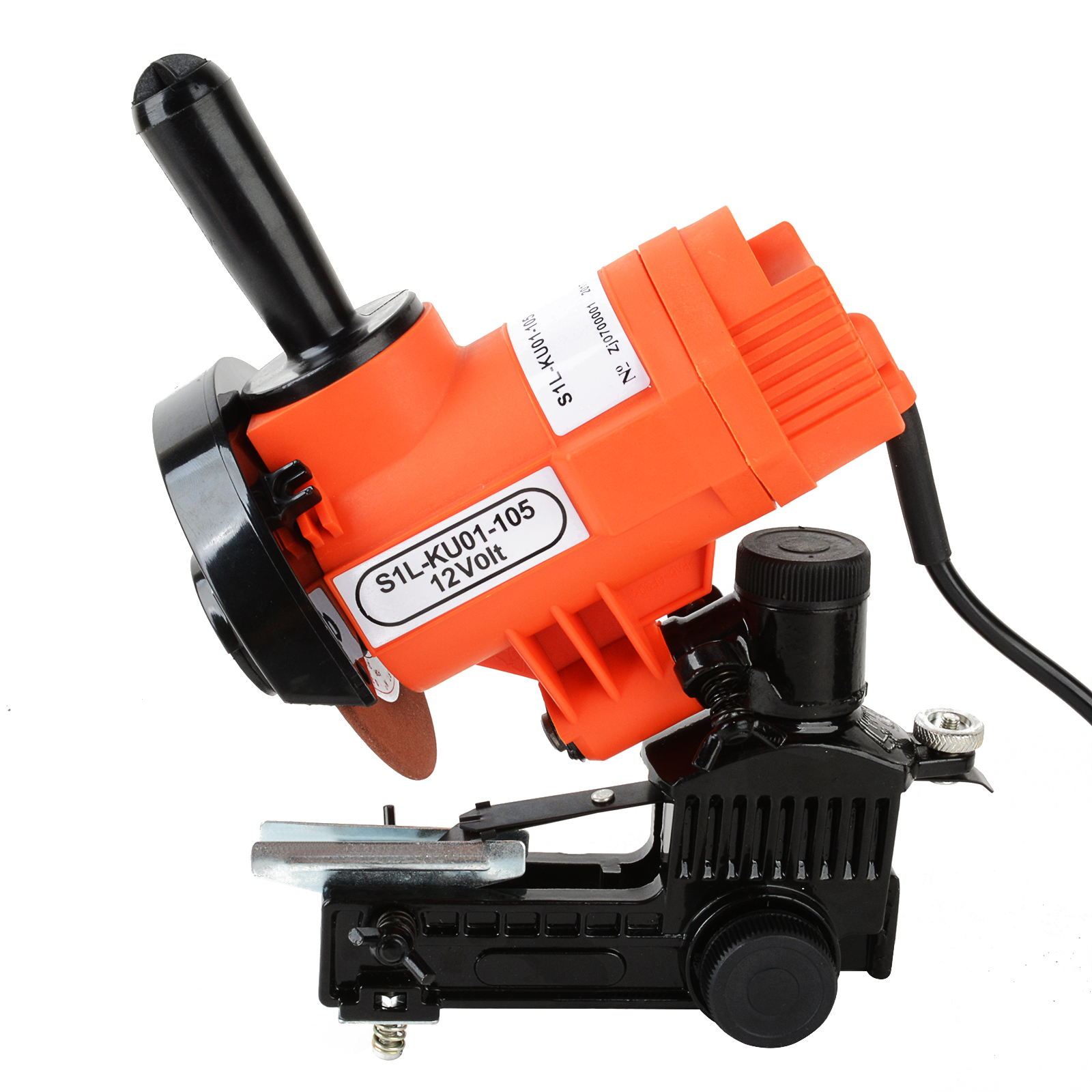 Portable 12 Volt Bar Mounted Chain File Grinder Electric Chainsaw Sharpener Power Tool Accessory MAYITR маяк findme f2 volt