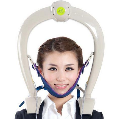 Cervical tractor portable instrument for household fields dragon-head-raising traction fixator  Body massagerCervical tractor portable instrument for household fields dragon-head-raising traction fixator  Body massager