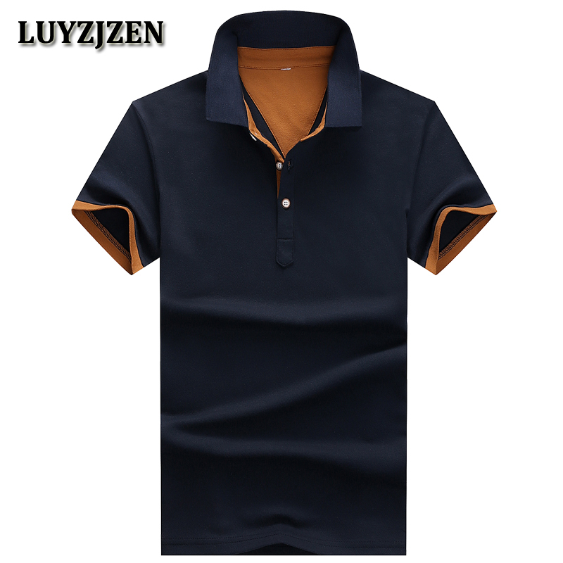 Polo Shirt Men For Mens Casual Brand Clothing Business Male Breathable Fashion Poloshirt 2018 Summer Polos Para Hombre New K49