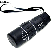 Green Membrane Dual Focus Zoom High Quality Hd Wide Angle LLL Night Vision Binoculars Monocular Telescope