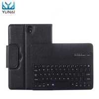 YUNAI Bluetooth Keyboard Cover Case For Samsung For Galaxy Tab S3 9 7 New Keyboard Cover
