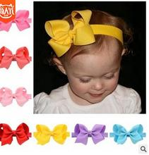 New Fashion Hot children kids Baby Girl Bow Headband Toddler Headwear hair band Hair Accessories 1pc soft lovely kids girl cute star headband cotton headwear hairband headwear hair band accessories 0 3y hot