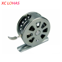 High Strength Stainless Metal Drum Fly Fishing Reel Light Weight Line Winder For Stream River Lake
